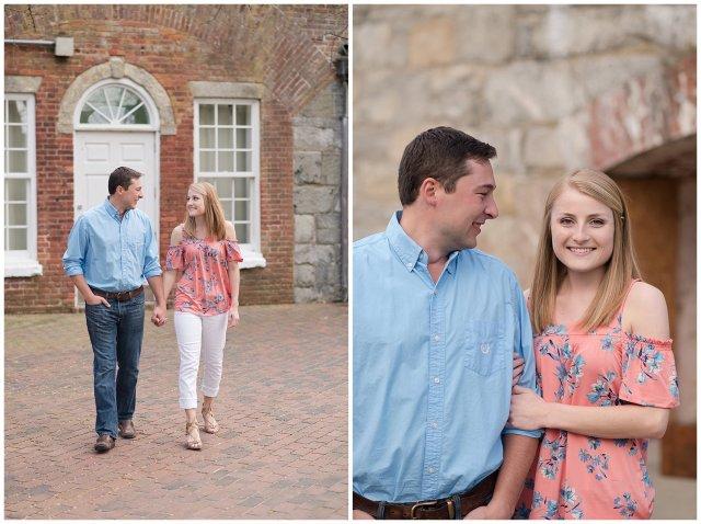 Fort Monroe Spring Engagement Session Virginia Wedding Photographers_4325