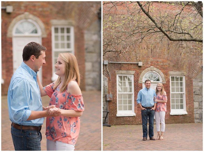 Fort Monroe Spring Engagement Session Virginia Wedding Photographers_4326