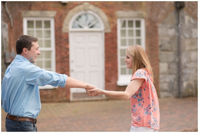 Fort Monroe Spring Engagement Session Virginia Wedding Photographers_4329