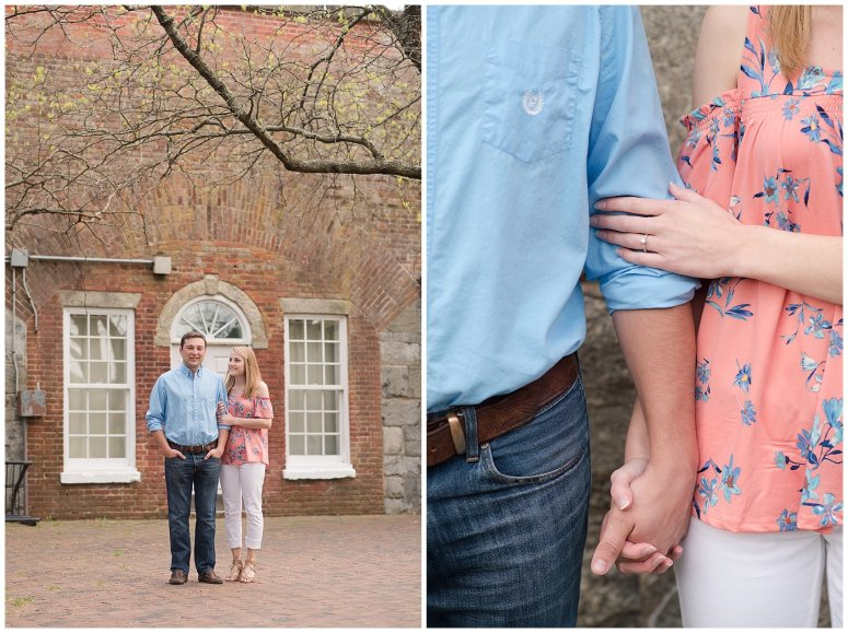 Fort Monroe Spring Engagement Session Virginia Wedding Photographers_4333