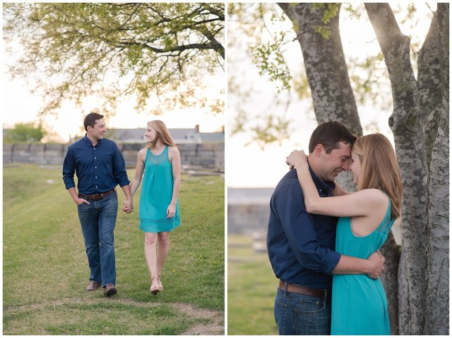 Fort Monroe Spring Engagement Session Virginia Wedding Photographers_4347