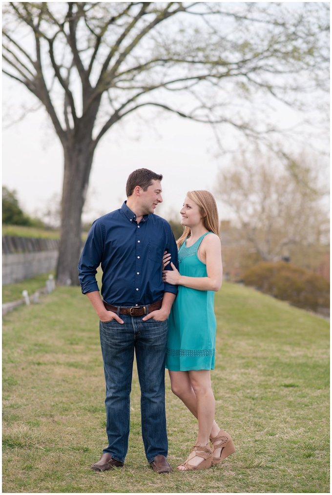 Fort Monroe Spring Engagement Session Virginia Wedding Photographers_4348