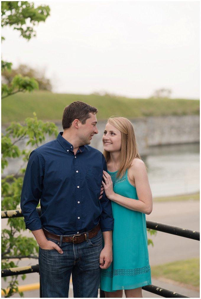 Fort Monroe Spring Engagement Session Virginia Wedding Photographers_4352
