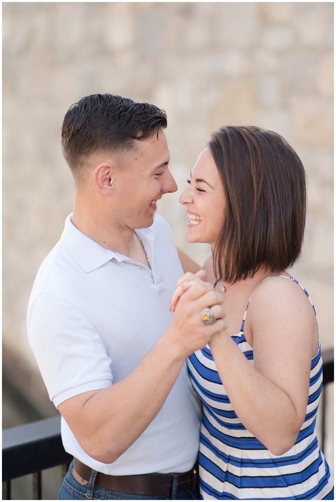 Spring Fort Monroe Hampton Engagement Session Virginia Wedding Photographers_4163