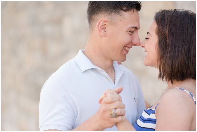 Spring Fort Monroe Hampton Engagement Session Virginia Wedding Photographers_4164