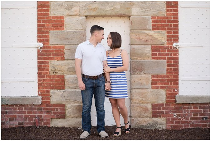 Spring Fort Monroe Hampton Engagement Session Virginia Wedding Photographers_4170