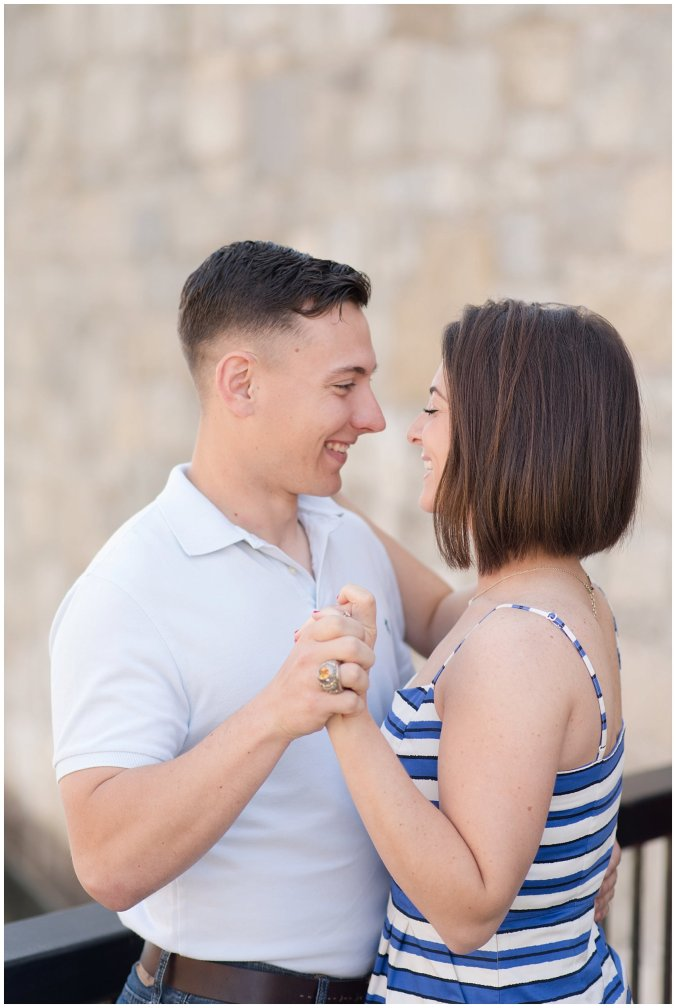 Spring Fort Monroe Hampton Engagement Session Virginia Wedding Photographers_4174