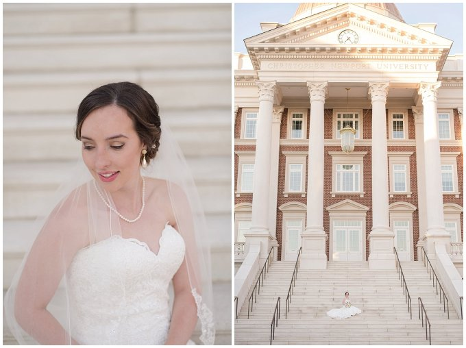 Classy Bridal Portrait Session CNU Newport News Virginia Wedding Photographers_4703