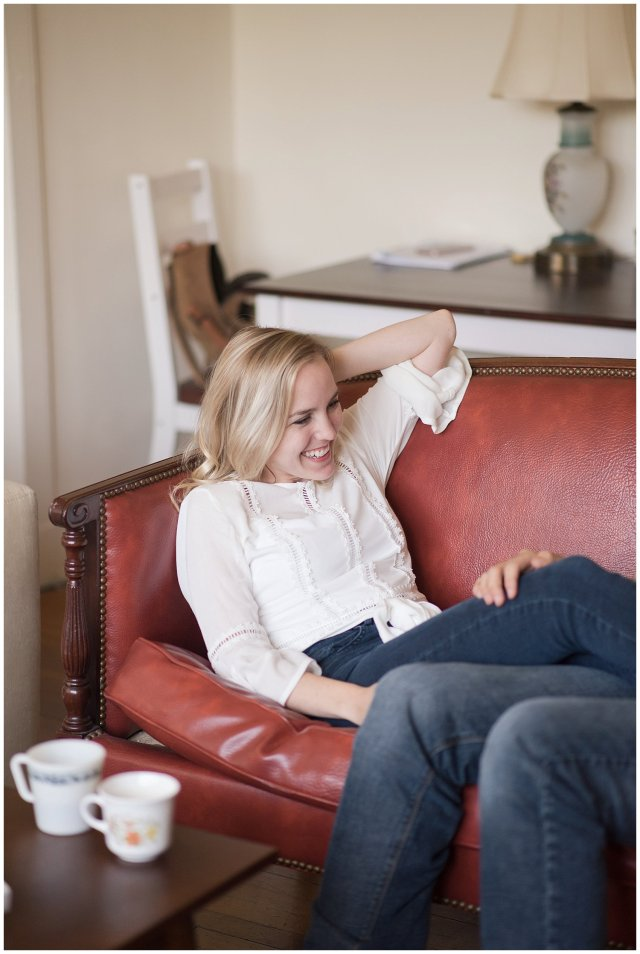 Downtown Norfolk Cozy In Home Engagement Session Virginia Wedding Photographers_4602
