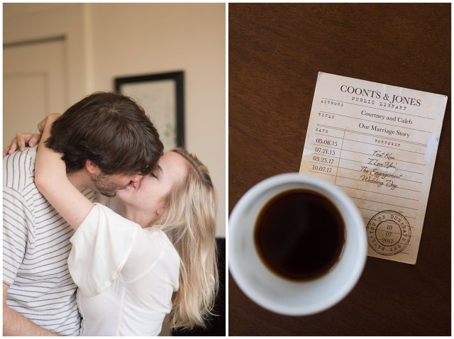 Downtown Norfolk Cozy In Home Engagement Session Virginia Wedding Photographers_4626