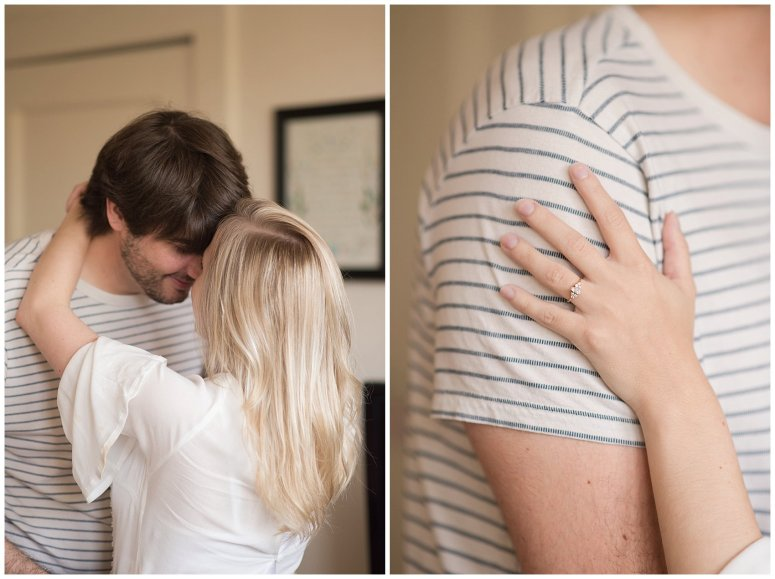 Downtown Norfolk Cozy In Home Engagement Session Virginia Wedding Photographers_4633