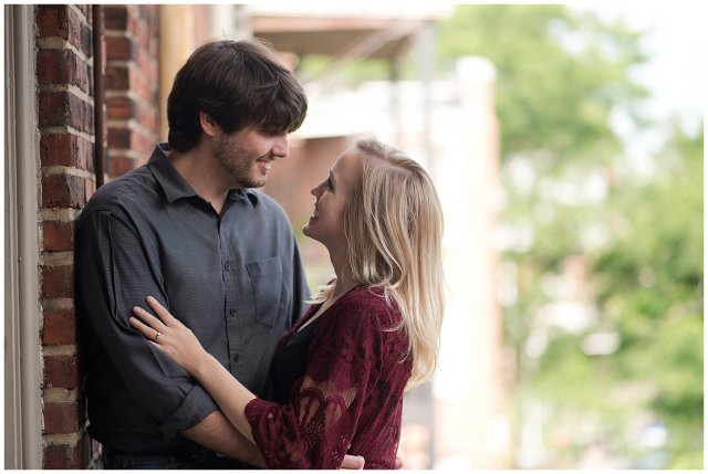 Downtown Norfolk Cozy In Home Engagement Session Virginia Wedding Photographers_4640