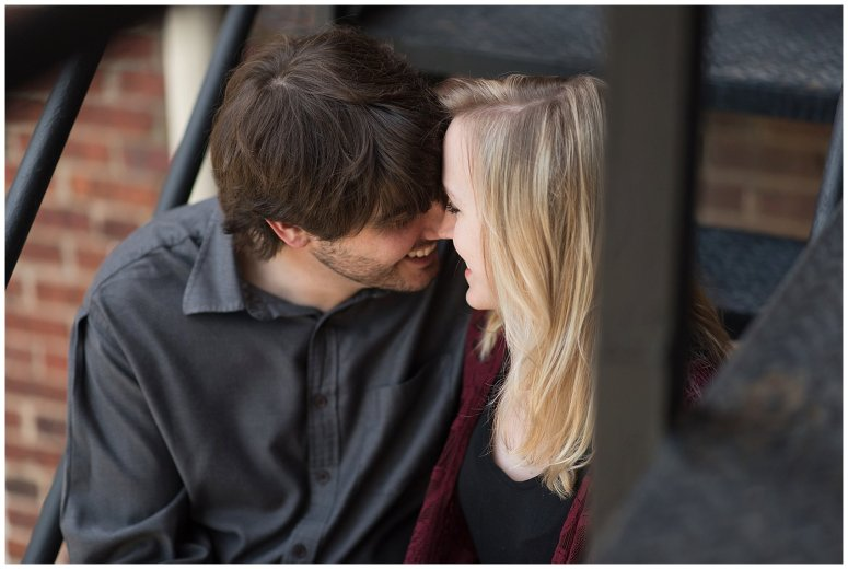 Downtown Norfolk Cozy In Home Engagement Session Virginia Wedding Photographers_4642