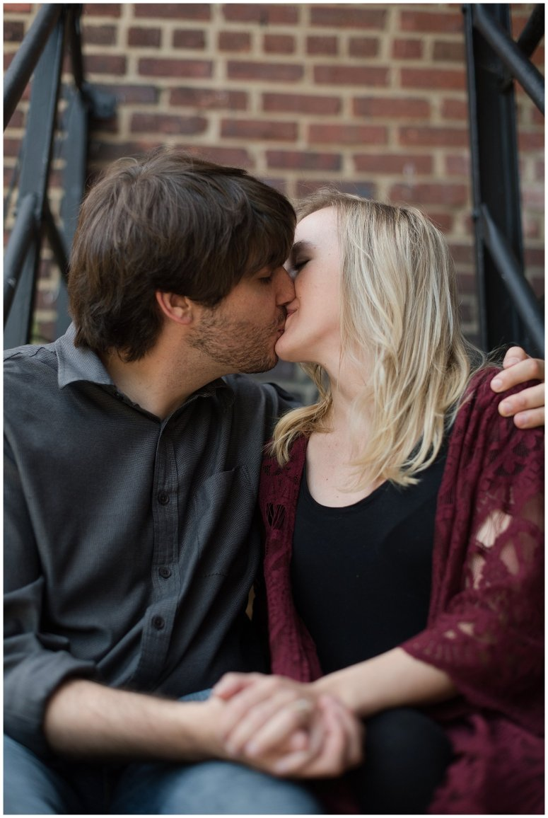 Downtown Norfolk Cozy In Home Engagement Session Virginia Wedding Photographers_4647