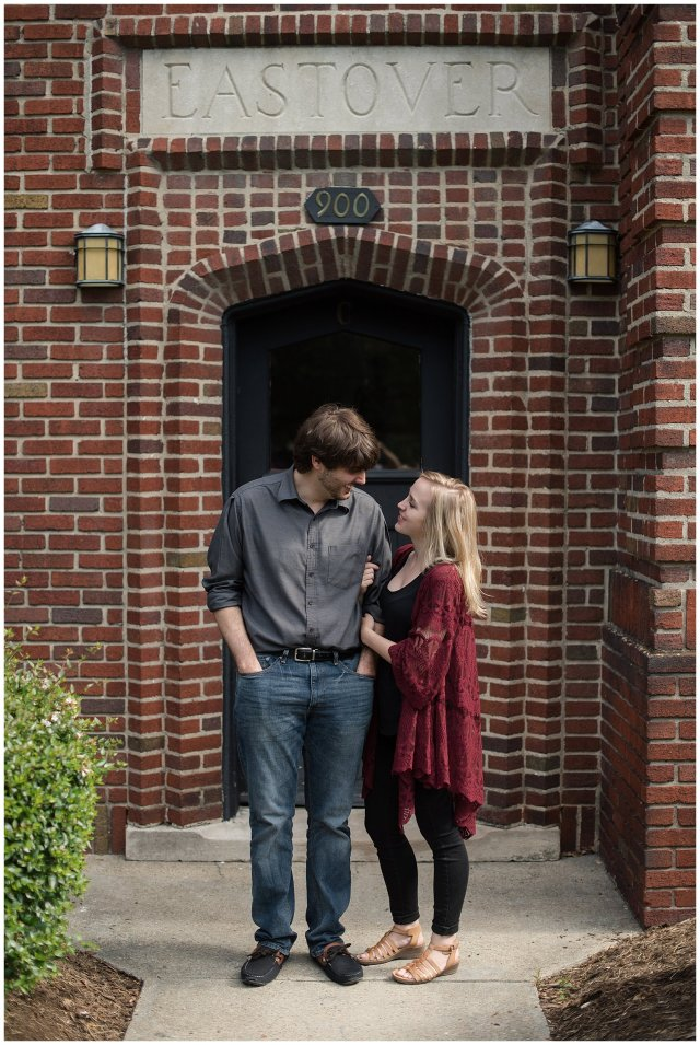 Downtown Norfolk Cozy In Home Engagement Session Virginia Wedding Photographers_4648