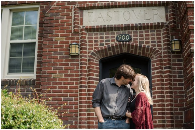 Downtown Norfolk Cozy In Home Engagement Session Virginia Wedding Photographers_4649