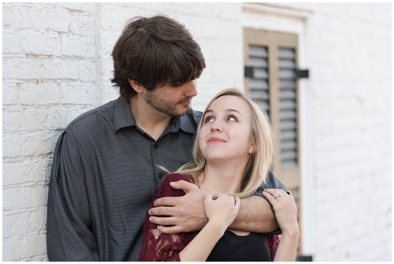 Downtown Norfolk Cozy In Home Engagement Session Virginia Wedding Photographers_4660