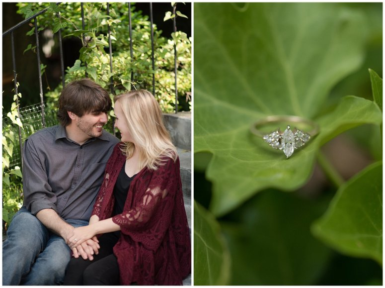 Downtown Norfolk Cozy In Home Engagement Session Virginia Wedding Photographers_4668