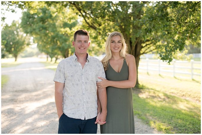 Golden Summer Engagement Session Back Bay Horse Farm Virginia Wedding Photographers_5462