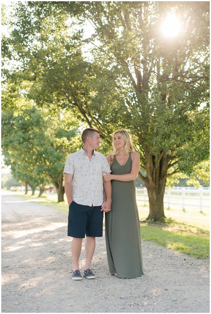 Golden Summer Engagement Session Back Bay Horse Farm Virginia Wedding Photographers_5463