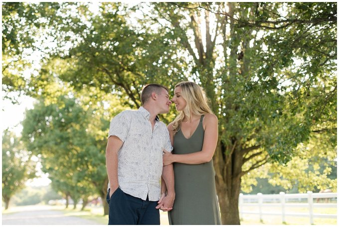 Golden Summer Engagement Session Back Bay Horse Farm Virginia Wedding Photographers_5464