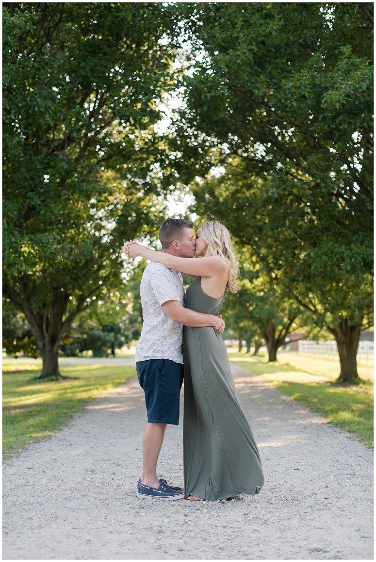 Golden Summer Engagement Session Back Bay Horse Farm Virginia Wedding Photographers_5470