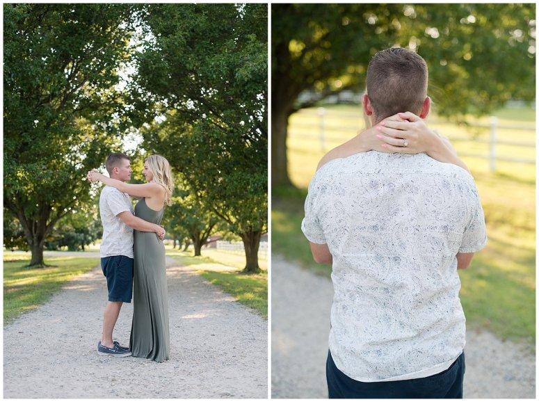 Golden Summer Engagement Session Back Bay Horse Farm Virginia Wedding Photographers_5471