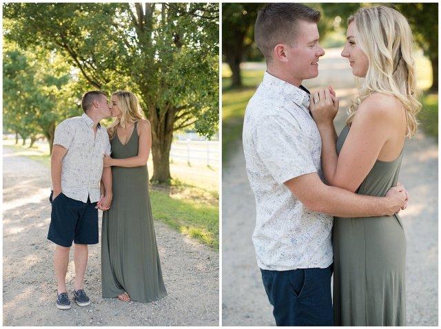Golden Summer Engagement Session Back Bay Horse Farm Virginia Wedding Photographers_5472