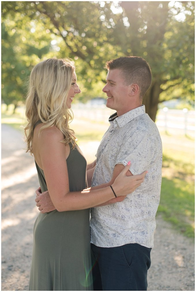 Golden Summer Engagement Session Back Bay Horse Farm Virginia Wedding Photographers_5476
