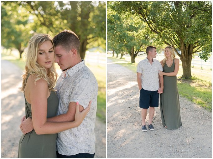 Golden Summer Engagement Session Back Bay Horse Farm Virginia Wedding Photographers_5477