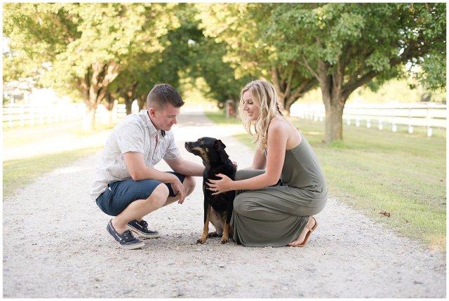 Golden Summer Engagement Session Back Bay Horse Farm Virginia Wedding Photographers_5481