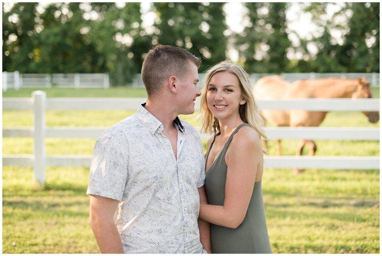 Golden Summer Engagement Session Back Bay Horse Farm Virginia Wedding Photographers_5482