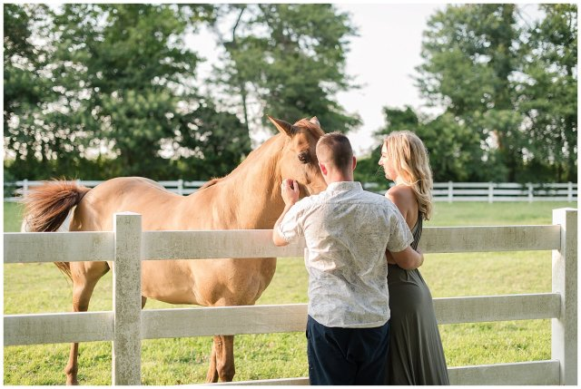 Golden Summer Engagement Session Back Bay Horse Farm Virginia Wedding Photographers_5484