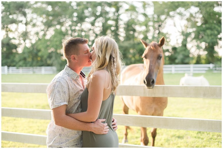 Golden Summer Engagement Session Back Bay Horse Farm Virginia Wedding Photographers_5485