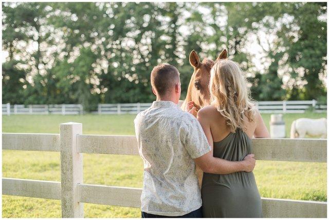 Golden Summer Engagement Session Back Bay Horse Farm Virginia Wedding Photographers_5490