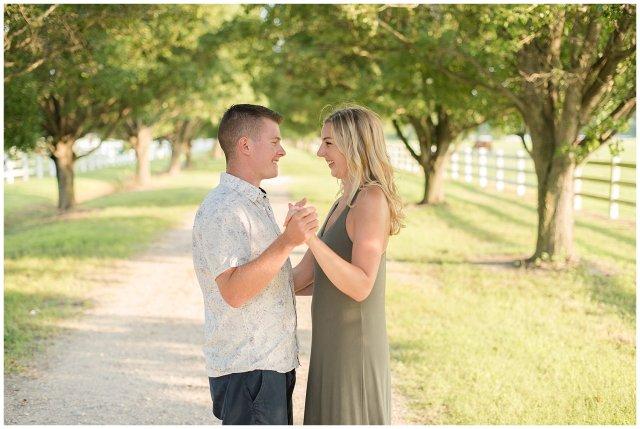 Golden Summer Engagement Session Back Bay Horse Farm Virginia Wedding Photographers_5495