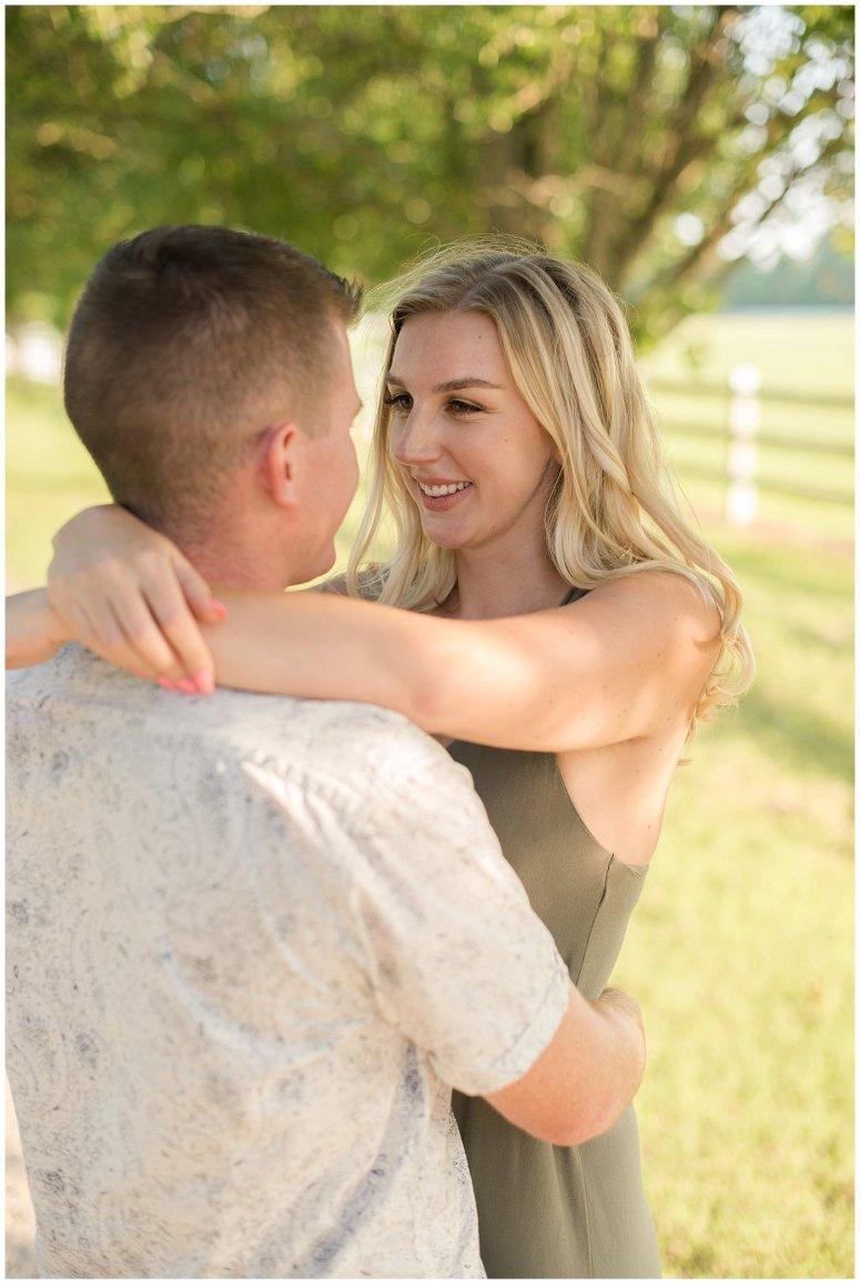 Golden Summer Engagement Session Back Bay Horse Farm Virginia Wedding Photographers_5496