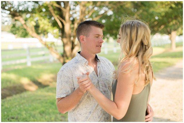 Golden Summer Engagement Session Back Bay Horse Farm Virginia Wedding Photographers_5497