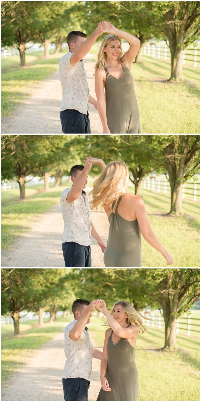 Golden Summer Engagement Session Back Bay Horse Farm Virginia Wedding Photographers_5498