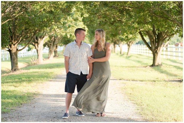 Golden Summer Engagement Session Back Bay Horse Farm Virginia Wedding Photographers_5502