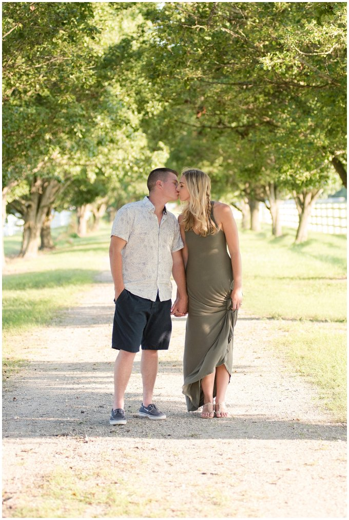 Golden Summer Engagement Session Back Bay Horse Farm Virginia Wedding Photographers_5503