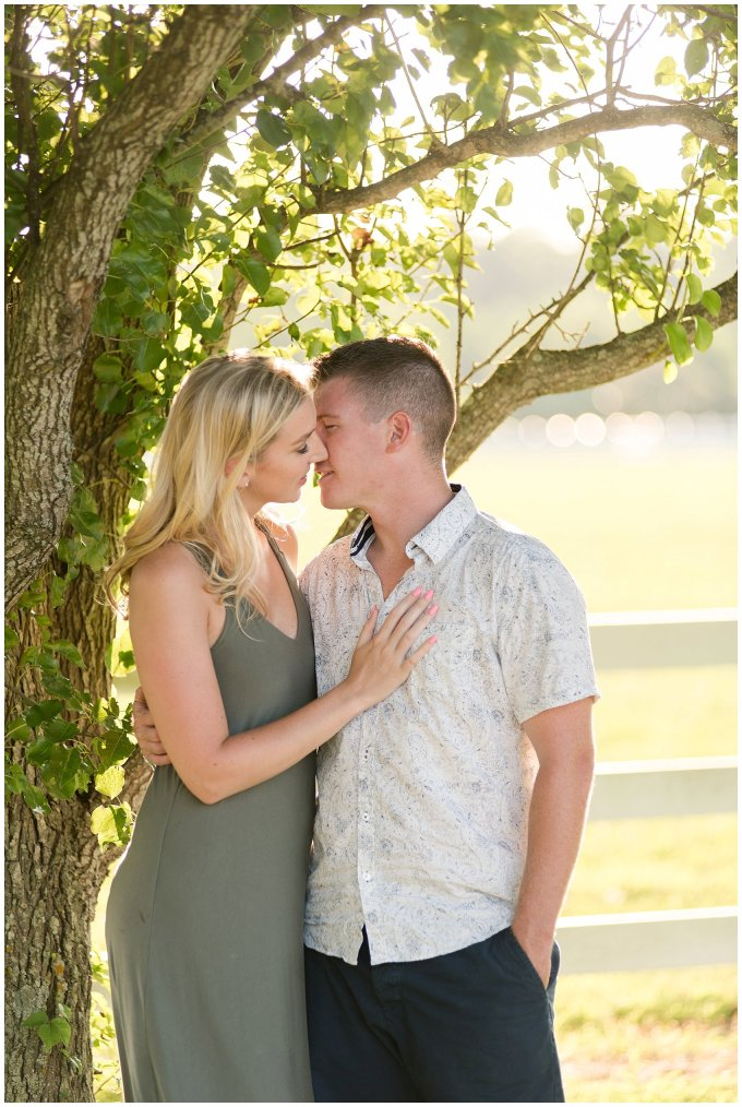 Golden Summer Engagement Session Back Bay Horse Farm Virginia Wedding Photographers_5505