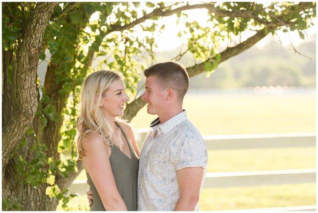 Golden Summer Engagement Session Back Bay Horse Farm Virginia Wedding Photographers_5506