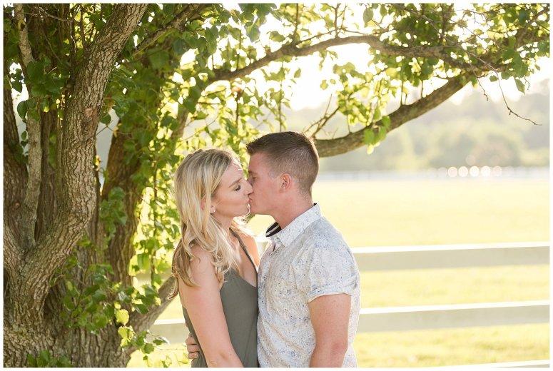 Golden Summer Engagement Session Back Bay Horse Farm Virginia Wedding Photographers_5507