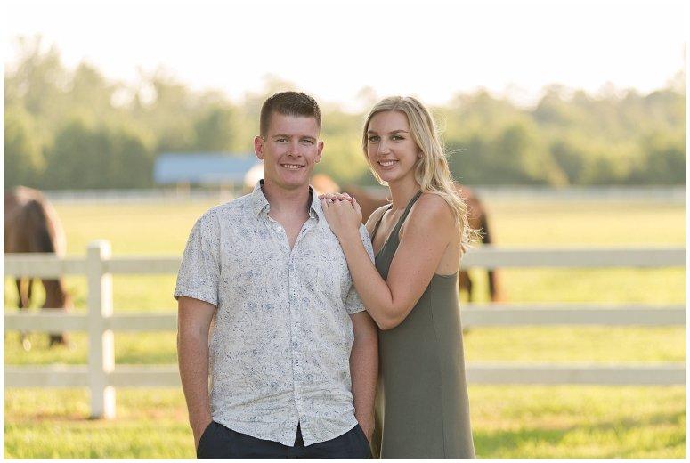 Golden Summer Engagement Session Back Bay Horse Farm Virginia Wedding Photographers_5508