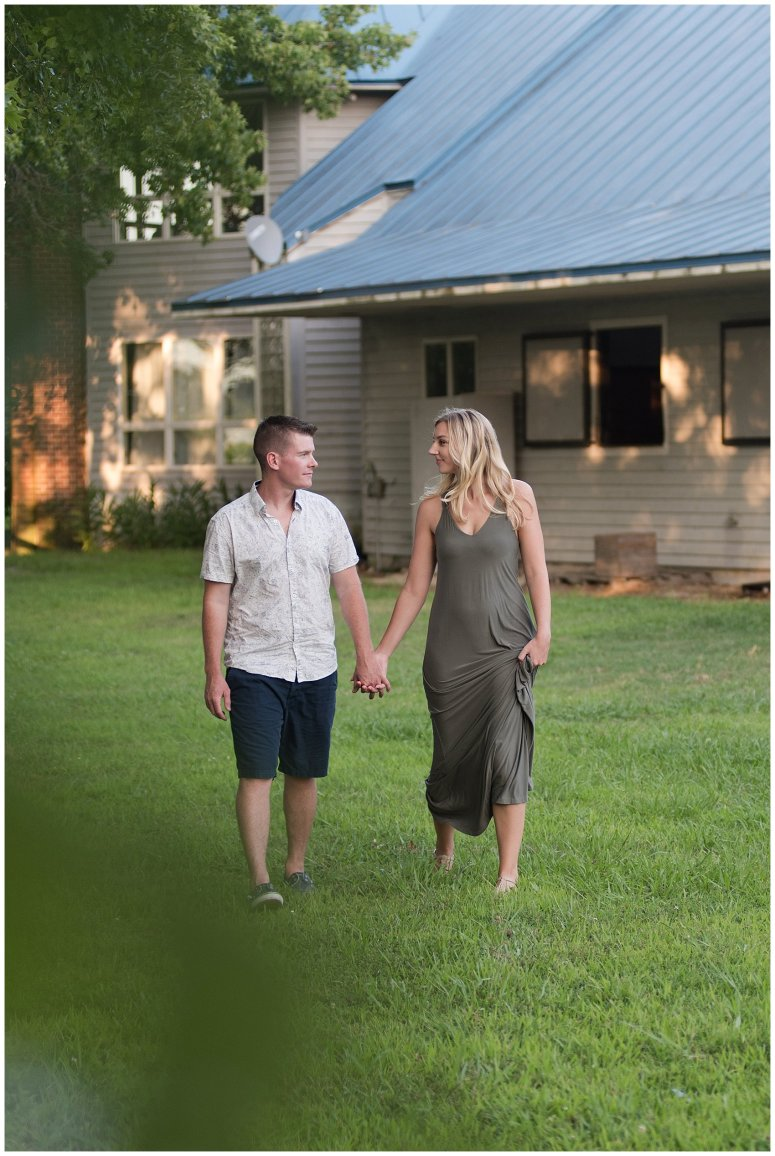 Golden Summer Engagement Session Back Bay Horse Farm Virginia Wedding Photographers_5517