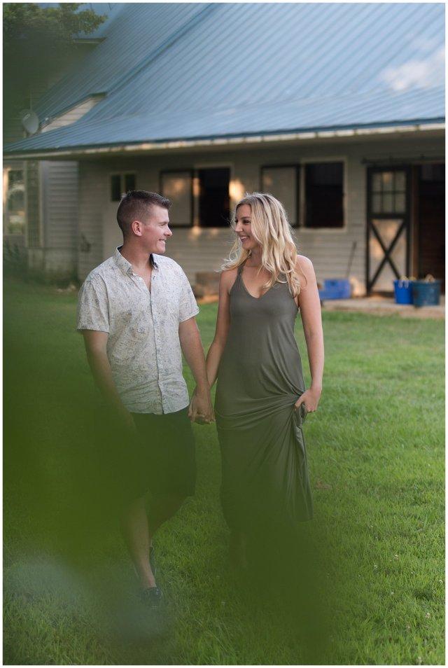 Golden Summer Engagement Session Back Bay Horse Farm Virginia Wedding Photographers_5518