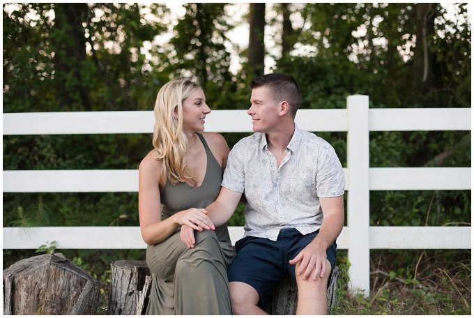 Golden Summer Engagement Session Back Bay Horse Farm Virginia Wedding Photographers_5529