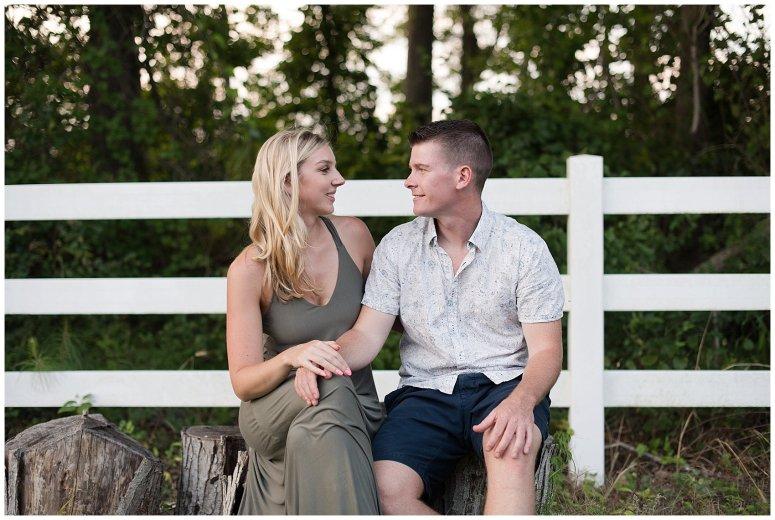 Golden Summer Engagement Session Back Bay Horse Farm Virginia Wedding Photographers_5529