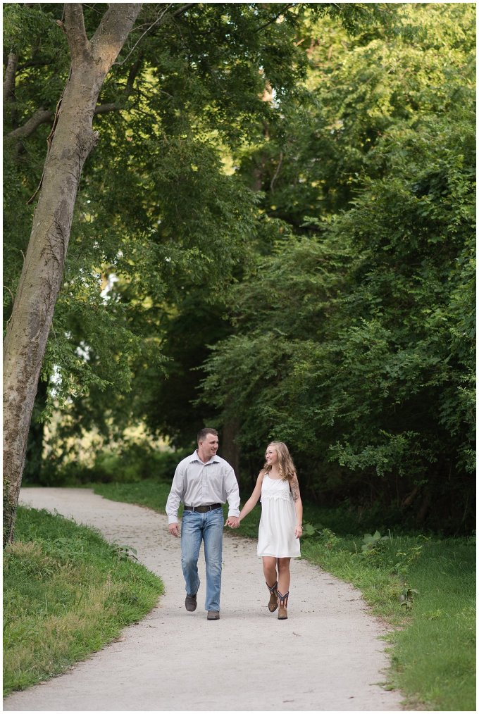 Golden Summer Engagement Session Windsor Castle Park Smith Field Virginia Wedding Photographers_5407